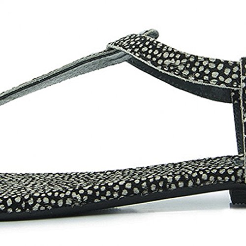 maruti-bella-frog-black-hair-on-leather-t-bar-flat-sandals-uk-65-eu-40