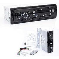 Autoradio mit MP3 Player - SD Karte und USB Stick Player - FM Radio mit Bluetooth für Freisprecheinrichtung & Musik iPod Player Smartphone & Tablet