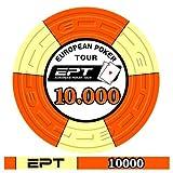 Fiches Ceramica EPT 2007 Replica Valore 10000