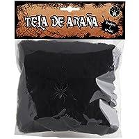 Haunted House Mini telaraña, color negro (Rubie's Spain S4322)