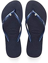 ccfd8547fe10 Amazon.co.uk  Blue - Flip Flops   Thongs   Women s Shoes  Shoes   Bags