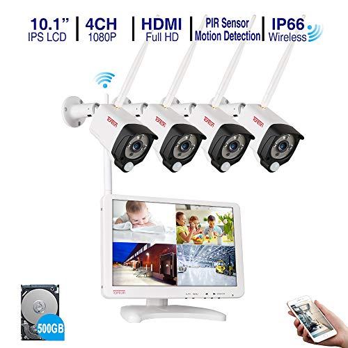AN Überwachungskamera Set mit 12