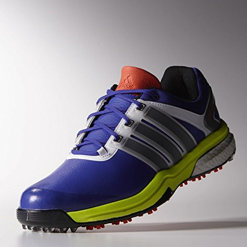 Adidas Hommes Adipower Boost Chaussures De Golf (nuit Flash / Argent / Solaire) Nuit Flash / Argent / Solaire