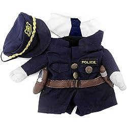 disfraz de policia para gato