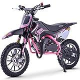 Renegade 50R 49cc Petrol Kids Mini Dirt Bike Moto Cross Scrambler - Pink