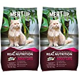 Meat Up Adult(+1 year) Dry Cat Food, Ocean Fish, 3kg ( BUY 1 GET 1 FREE)