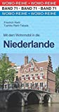 Mit dem Wohnmobil in die Niederlande (Womo-Reihe) - Friedrich Riehl, Toshiko Riehl-Takada