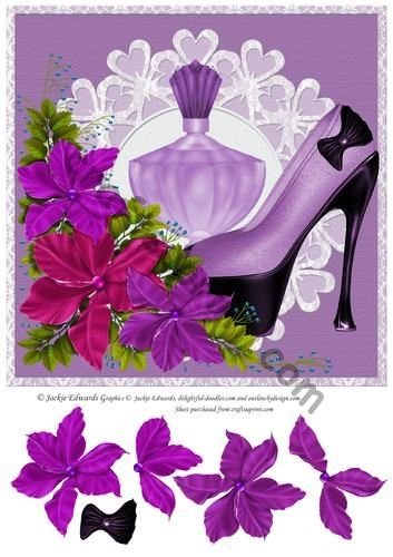Fiori e profumi da scarpe Jackie Edwards