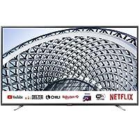 "Sharp aquos smart tv 40"" full hd suono harman kardon sat internet wifi youtube netflix 3xhdmi 2xusb uscita cuffie, scart e audio digitale."