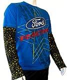 Rally Kreuz omse Ford Fiesta Extreme Herren blau schwarz Longsleeve T-Shirt xl Blau - blau