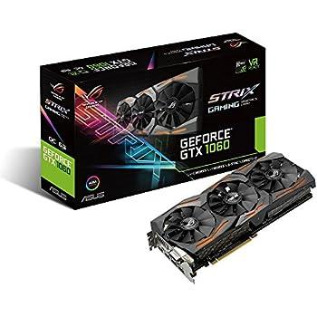 Asustek computer - Asus strix-gtx1060-6g-gaming, 6gb dvi, 2xhdmi