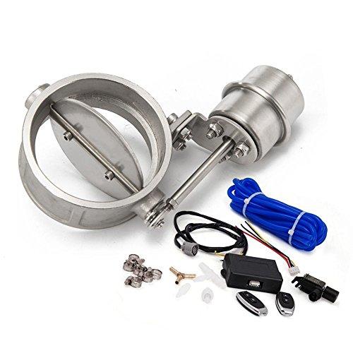 76 Vakuum (epman tk-cut76-op-dz Abluftsteuerung Ventil Set mit Vakuum ACTUATOR offen Stil Ausschnitt 7,6cm 76mm Rohr mit kabelloser Fernbedienung Controller)