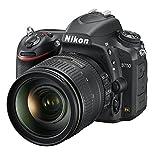 Nikon D750 Digital SLR Camera with AF-S 24-120 mm f/4 VR Lens Kit (24.3 MP) 3.2 inch Tilt-Screen LCD with Wi-Fi UK Plug