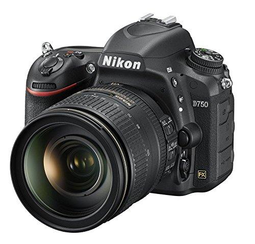 Best Price Nikon D750 Digital SLR Camera with AF-S 24-120 mm f/4 VR Lens Kit (24.3 MP) 3.2 inch Tilt-Screen LCD with Wi-Fi UK Plug Discount