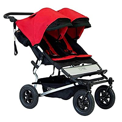 Mountain Buggy Duet 2015 Double Stroller, Chili by Mountain Buggy