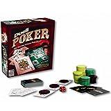 Poker Duell Gesellschaftsspiel Pokerface Spiel PARKER Pokerspiel ab 18 Jahren Spielbrett NEU