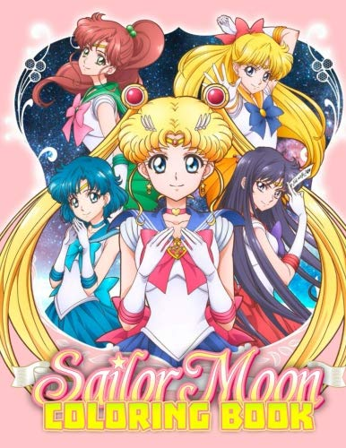 Sailor Moon Coloring Book: Great Coloring Pages for Kids por Santha Luchia