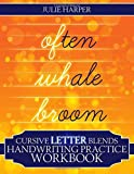 Cursive Letter Blends Handwriting Practice Workbook