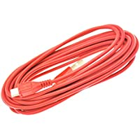 NEW HIGH QUALITY 3M METER RED MICRO USB 5 PIN SYNC LONG CHARGER DATA CABLE FOR SAMSUNG GALAXY CORE ACE 2 3 J STAR YOUNG FAME Y EXPRESS NEXUS