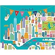 New York coloring book (mini edition)