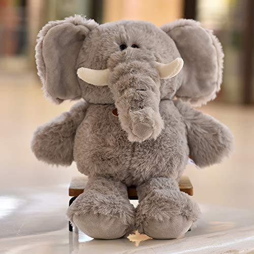 luludsoo Plüsch Spielzeug Cartoon Weiche Gefüllte Spielzeug, Geburtstag Geschenk Urlaub Geschenk Party Liefert Für Kinder Baby Paare, Pp Baumwolle 30cm Grauer Elefant - Elefant Dekorationen Baby Grauer