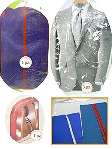 PRO-DIGITAL ® _ Kit 5pz para Proteger la ropa / Portatrajes , ideal para Viaje y otro