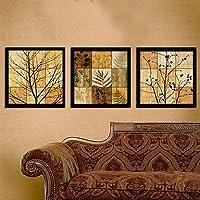 FanVass Filiali in Jigsaw Puzzle stile Arte Stampa su tela con cornice Set di 3