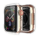 Uluck Apple Watch 4 Case with Buit in TPU Screen Protector 44mm