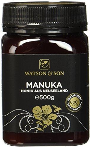 Watson & Son 16+ MGS Manuka-Honig MGO 600+, 1er Pack (1 x 500 g)