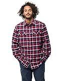Jack Wolfskin Bow Valley Shirt Men red Blue Checks Größe S 2017 Langarmshirt