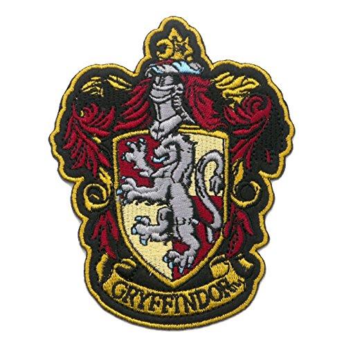 Gryffindor Patch Badge bestickt oder Aufnäher Aufbügler Bügelbild 11,5cm x 9cm