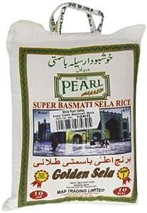 White Pearl Easy Cook Basmati Rice 10 kg