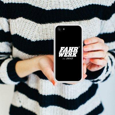 Apple iPhone 5s Housse Étui Protection Coque Châssis Véhicules Voitures Housse en silicone blanc