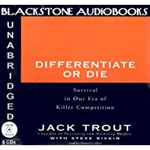Differentiate or Die by Jack Trout (2001-10-01)
