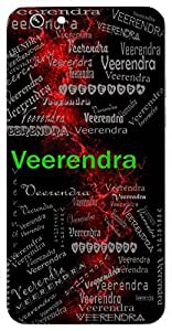 Veerendra (Lord Of The Brave) Name & Sign Printed All over customize & Personalized!! Protective back cover for your Smart Phone : Samsung Galaxy S5 / G900I