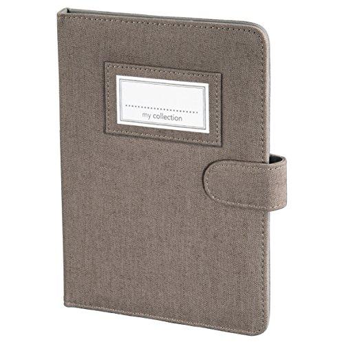 Hama Leinen Portfolio für eBook-Reader bis 15,2 cm (6 Zoll) braun