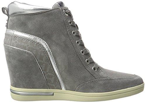 Tommy Hilfiger Damen S1285ebille 3c2 Sneaker Rollkragen Grau (Light Grey)