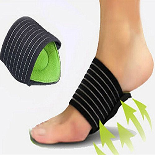 G-smart 1 Pair Foot Cushioned Arch Support Helps Decrease Fasciitis Aid Plantar Fasciitis Pain by G-smart