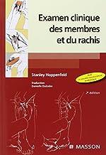 Examen clinique des membres et du rachis (Ancien Prix éditeur : 59 euros) de Stanley Hoppenfeld