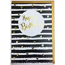 Suchergebnis Auf Amazon De Für Geburtstagskarten Schwarz Weiss
