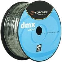 Accu Cable AC-DMX3/100R  1611000030  - Cavo con connettore DMX a 3 poli - 3 Pin Dmx Cavo