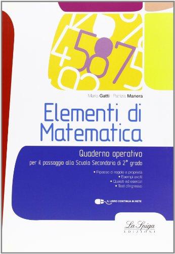 Elementi di matematica. Con espansione online. Per la Scuola media