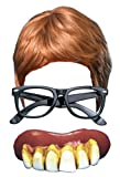 Austin Powers 3 Piece Fancy Dress Kit: Wig, Glasses & Teeth by Party Central