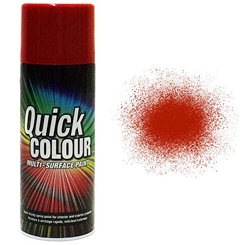 rust-oleum-quick-colour-multi-purpose-aerosol-spray-paint-400ml-cherry-red-gloss-12-pack