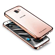Galaxy J7 2016 Coque, Galaxy J7 2016 Coque de protection en silicone, saincat Bling Brillant strass Coque Étui Housse en silicone Protective Etui transparent TPU Gel CASE Bumper souple Crystal kirstall Clear Ultra Mince étui en silicone transparent Housse ceinture Housse à rabat couverture de cas etui coque TPU Bumper pour Samsung Galaxy J7 2016