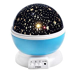 Baby Night Light Moon Star Rotating Projector Led Lamp 9