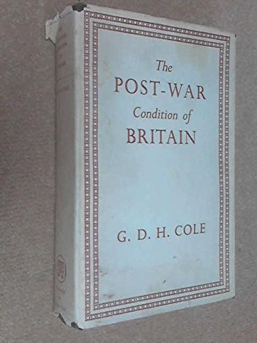 The Post-War Condition of Britain, used for sale  Delivered anywhere in UK