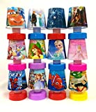 #3: Shopkooky Cartoon Printed LED Night Lamps Perfect for Your Kids Room / Return Gift / Birthday Gifts Online - Pack of 12