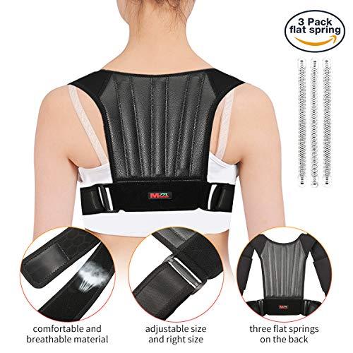 Correcteur de Posture Dos Épaules Réglable, SGODDE Orthèse de Maintien pour Améliore la Posture et Alignez Colonne Vertébrale,...
