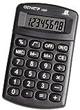 Genie 100 P 8-stelliger Taschenrechner (Batterie-Power, kompaktes Design) schwarz
